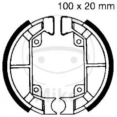 Būgninių stabdžių trinkelės EBC 886 excluding springs