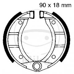 Būgninių stabdžių trinkelės EBC 908 excluding springs