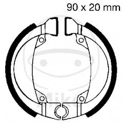 Būgninių stabdžių trinkelės EBC H335 excluding springs