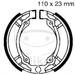 Būgninių stabdžių trinkelės EBC 897 excluding springs