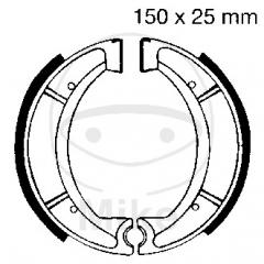 Būgninių stabdžių trinkelės EBC Y510G grooved excluding springs