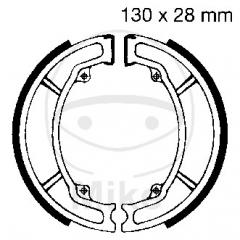 Būgninių stabdžių trinkelės EBC Y506G grooved includings springs