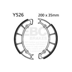 Būgninių stabdžių trinkelės EBC Y526 includings springs