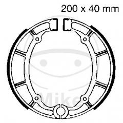 Būgninių stabdžių trinkelės EBC Y515 includings springs