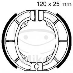 Būgninių stabdžių trinkelės EBC S624 includings springs