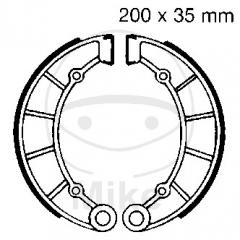 Būgninių stabdžių trinkelės EBC K713 includings springs