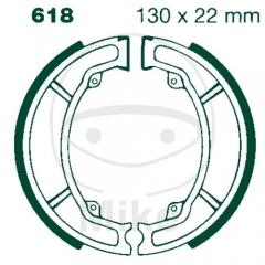 Būgninių stabdžių trinkelės EBC S618 includings springs