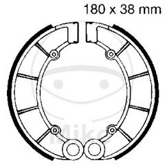 Būgninių stabdžių trinkelės EBC H320 includings springs