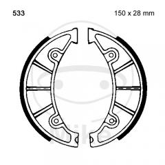 Būgninių stabdžių trinkelės EBC Y533 includings springs
