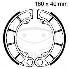 Būgninių stabdžių trinkelės EBC H321 includings springs