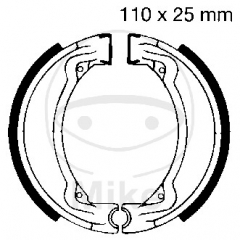 Būgninių stabdžių trinkelės EBC Y504 includings springs