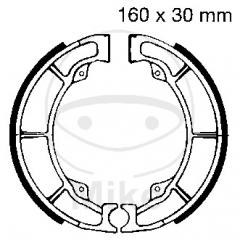 Būgninių stabdžių trinkelės EBC K706 includings springs