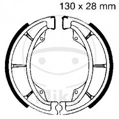 Būgninių stabdžių trinkelės EBC S602 includings springs