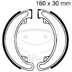Būgninių stabdžių trinkelės EBC H315 includings springs