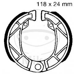 Būgninių stabdžių trinkelės EBC 995 includings springs