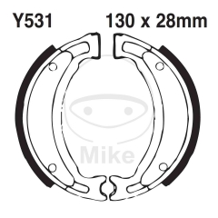 Būgninių stabdžių trinkelės EBC Y531 includings springs