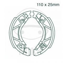 Būgninių stabdžių trinkelės EBC Y530 includings springs
