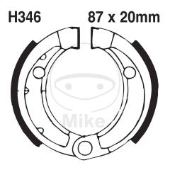Būgninių stabdžių trinkelės EBC H346 includings springs