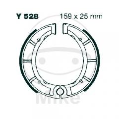 Būgninių stabdžių trinkelės EBC Y528 includings springs