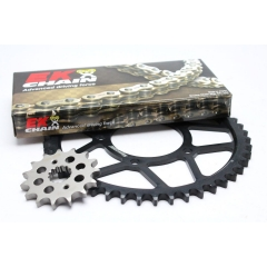 Chain kit EK PREMIUM EK + SUPERSPROX with gold MVXZ chain -absolute TOP quality