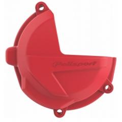 Clutch cover protector POLISPORT PERFORMANCE , raudonos spalvos