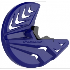 Disc & bottom fork protector POLISPORT PERFORMANCE blue Yam98/black
