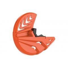 Disc & bottom fork protector POLISPORT PERFORMANCE orange KTM/black