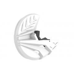 Disc & bottom fork protector POLISPORT PERFORMANCE white/black