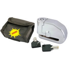 Disc lock RMS d6mm with alarm and bag