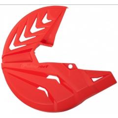 Disk Protector POLISPORT PERFORMANCE , raudonos spalvos