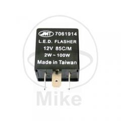 Flasher relay JMP electronic LED 12V 3 pole