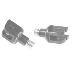 Footpeg adapters PUIG 7241N , juodos spalvos