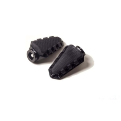 Footpegs without adapters PUIG TRAIL 7319N , juodos spalvos with rubber