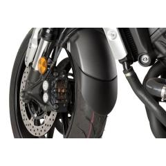 Front fender extension PUIG , juodos spalvos