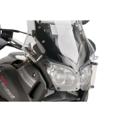 Headlight protector PUIG 8417W transparent