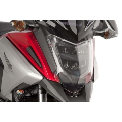 Headlight protector PUIG 9166W transparent