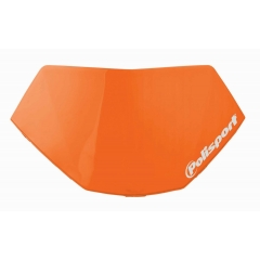 Headlight removable number plate POLISPORT HALO LED orange KTM