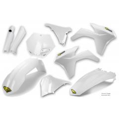 Išorinių plastmasinių detalių rinkinys CYCRA POWERFLOW , baltos spalvos