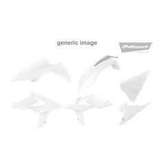 Išorinių plastmasinių detalių rinkinys POLISPORT , juodos spalvos
