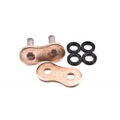 Kniedijamo tipo grandinės jungtis EK 525 ZZZ MLJ , metalizuoto aukso spalvos, su ZST savybe