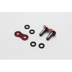 Kniedijamo tipo grandinės jungtis EK 520 SRX2 MLJ Mettalic Red