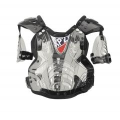 Krūtinės apsauga POLISPORT XP2 ADULT with arm protectors clear/black