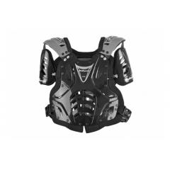 Krūtinės apsauga POLISPORT XP2 JUNIOR black/silver/black