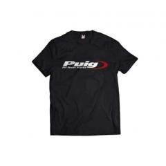 Marškinėliai be apykaklės PUIG logo PUIG , juodos spalvos , XL dydžio