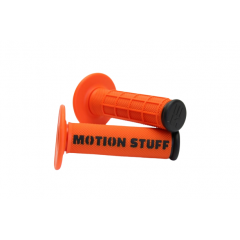 Motocross grip MOTION STUFF Orange/Black