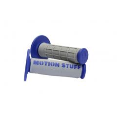 Motocross supersoft grip MOTION STUFF Grey/Blue