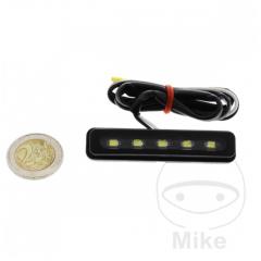 Number plate light JMP LED , juodos spalvos