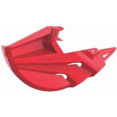 Partial disk protector POLISPORT , raudonos spalvos