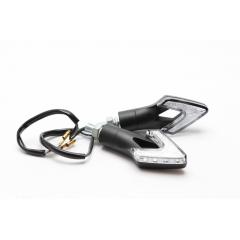 Posūkio žibintai su LED MOTION STUFF ARROW , juodos spalvos