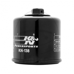 Tepalo filtras premium K&N KN 138